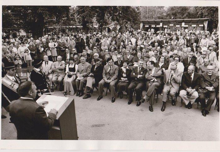 Weinfest Eröffnung 1979 Bildquelle: Stadtarchiv Traiskirchen